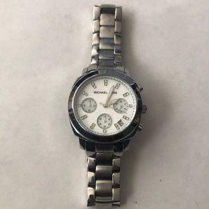 Michael Kors silver wristwatch